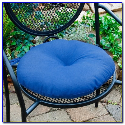 Round Outdoor Bistro Chair Cushions