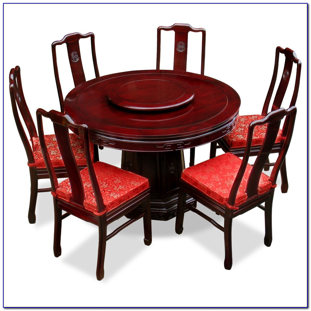 Round Outdoor Table With 6 Chairs