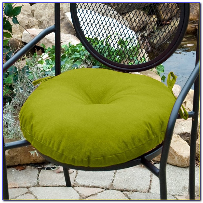 Round Patio Chair Pads