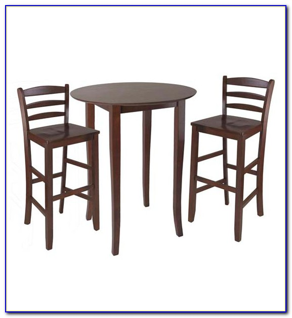 Round Tall Table And Chairs