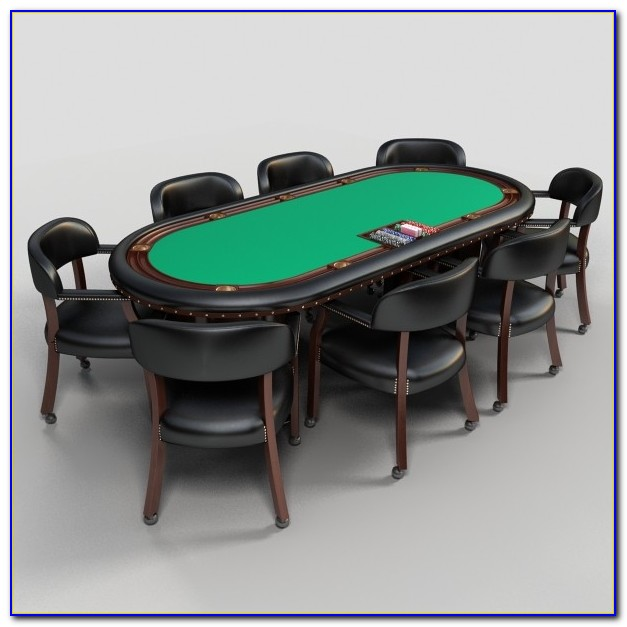 Rustic Poker Tables And Chairs