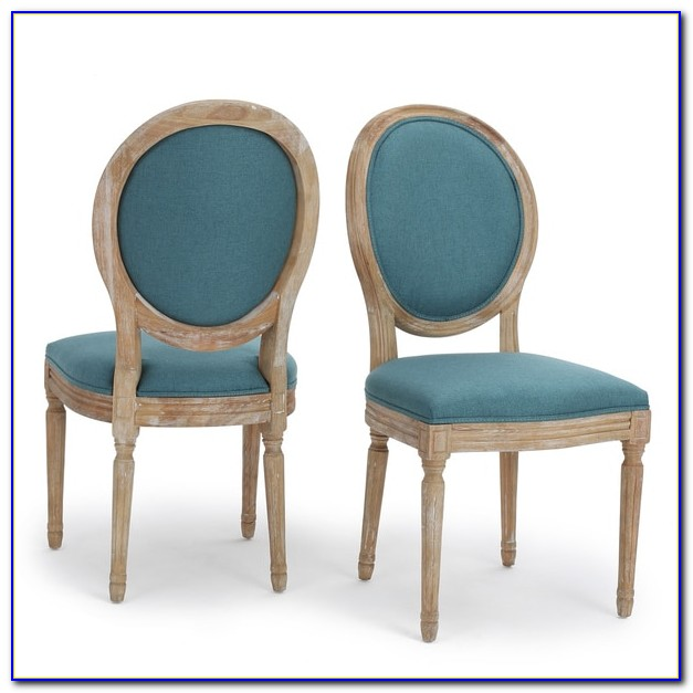 Set Of 2 Tufted Dining Chairs