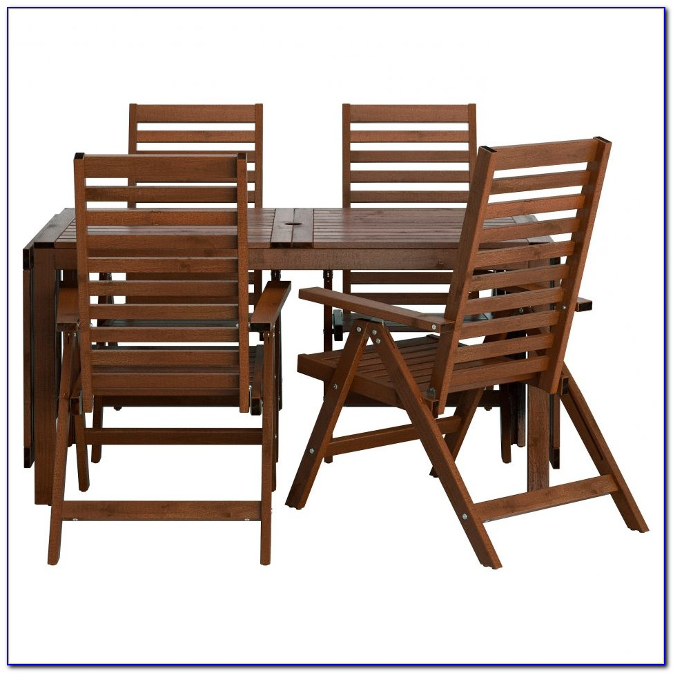 Small Outdoor Table And 2 Chairs
