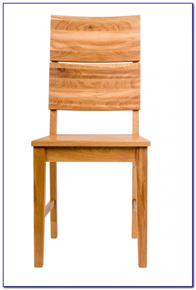 Solid Oak Dining Chairs Leather