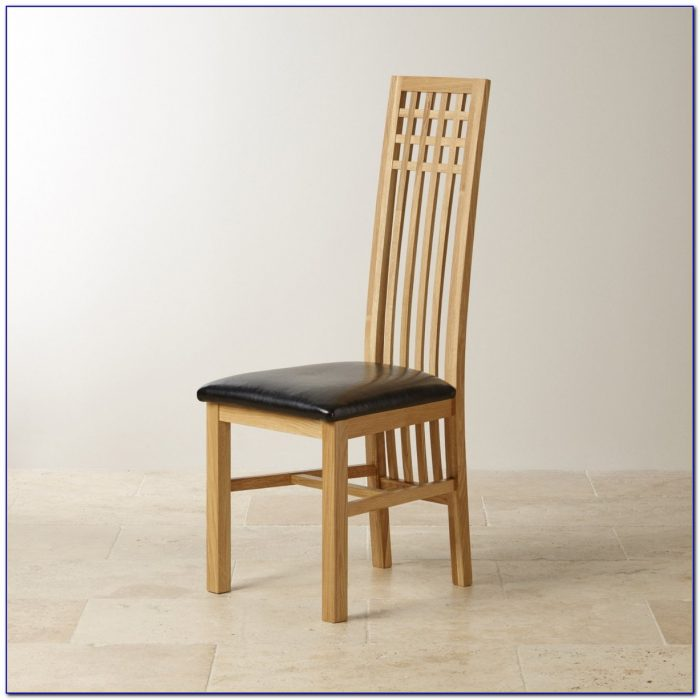 Solid Oak Dining Chairs Used