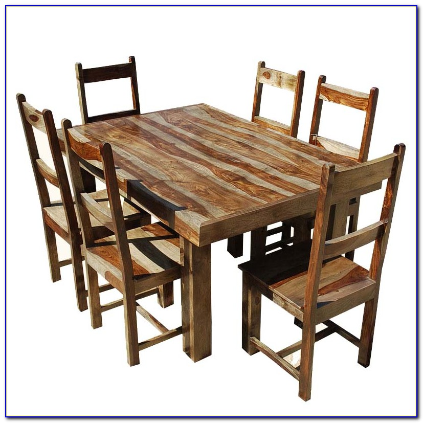 Solid Wood Dining Room Table Sets