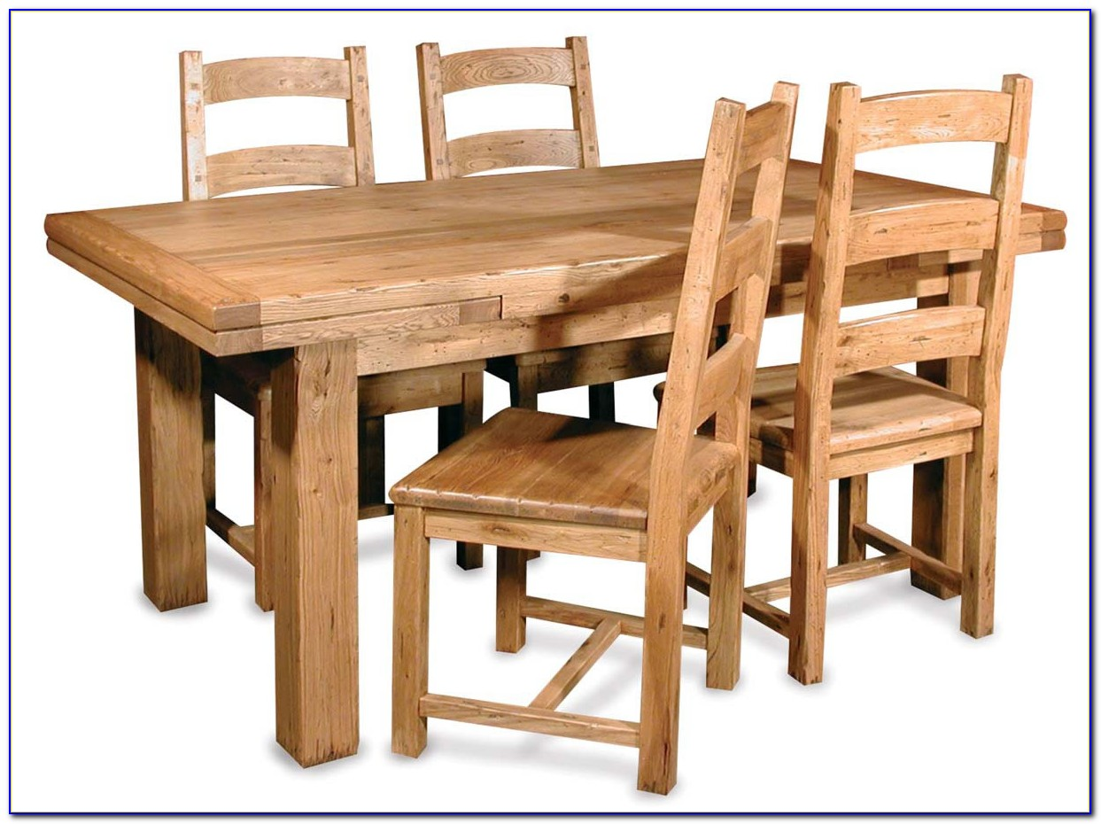 Solid Wood Dining Table And Chairs Uk