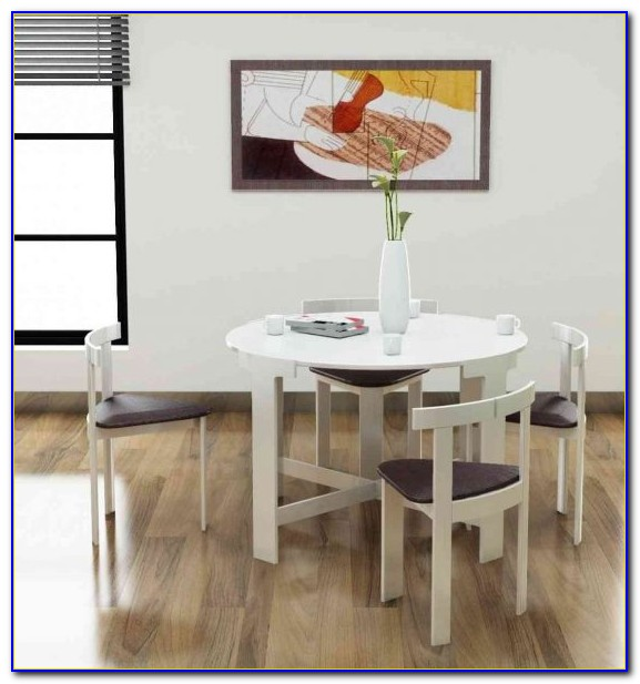 Space Saving Dining Table And Chairs In India