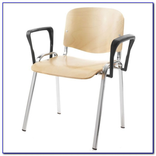 Stacking Guest Chair With Arms