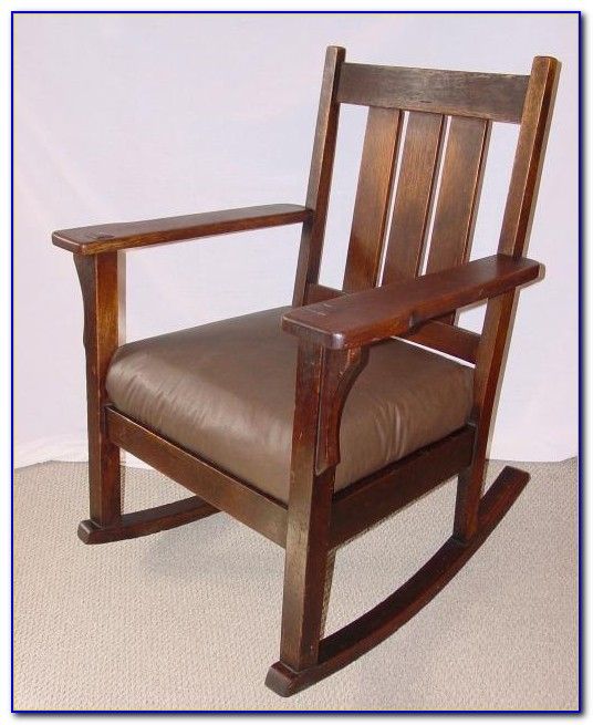 Stickley Mission Style Rocking Chair