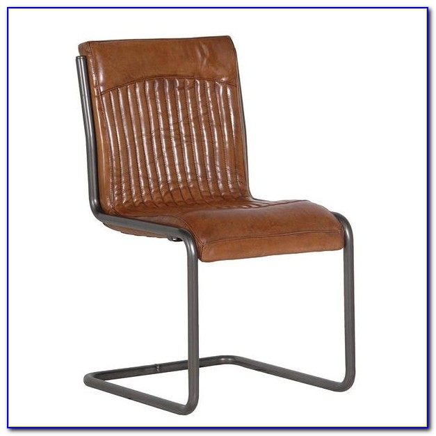 Tan Leather Dining Chairs Ebay