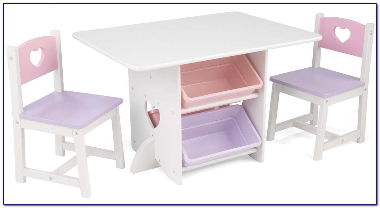 Toddler Pink Table And Chairs