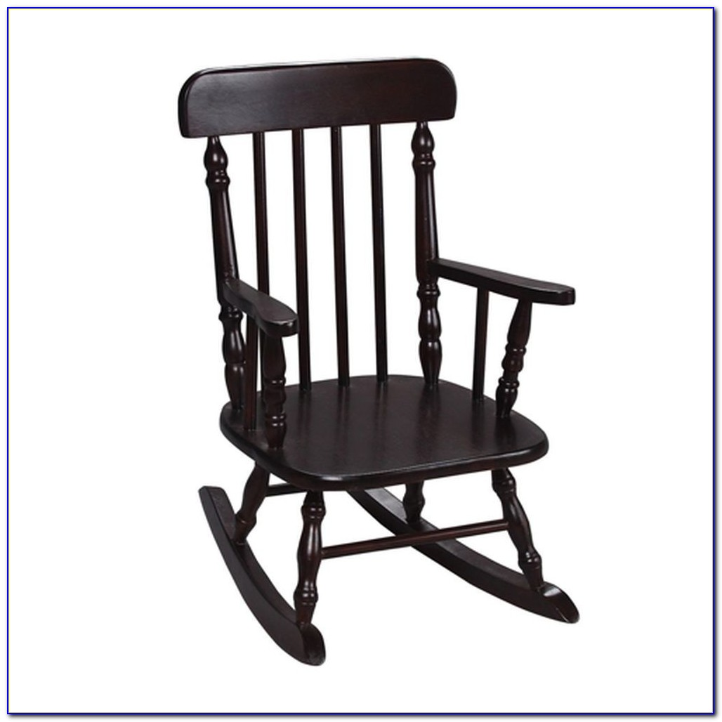 Toy Wooden Rocking Chair