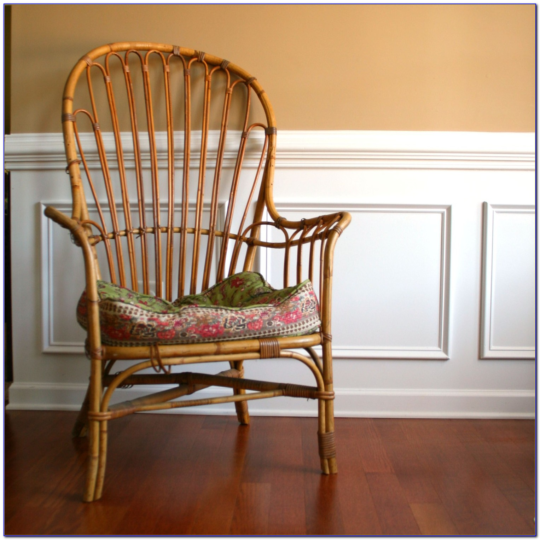 Vintage Cane Back Rocking Chair