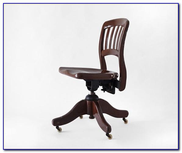 Vintage Oak Office Furniture