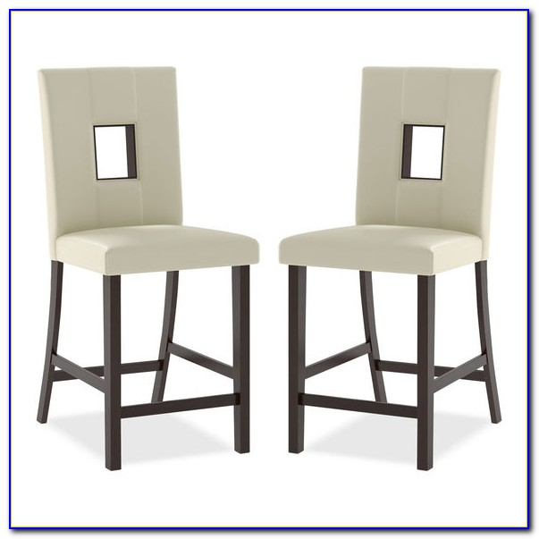 White Counter Height Dining Chairs