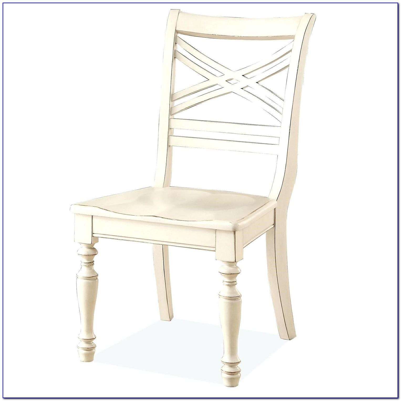 White Cross Back Chairs Ebay