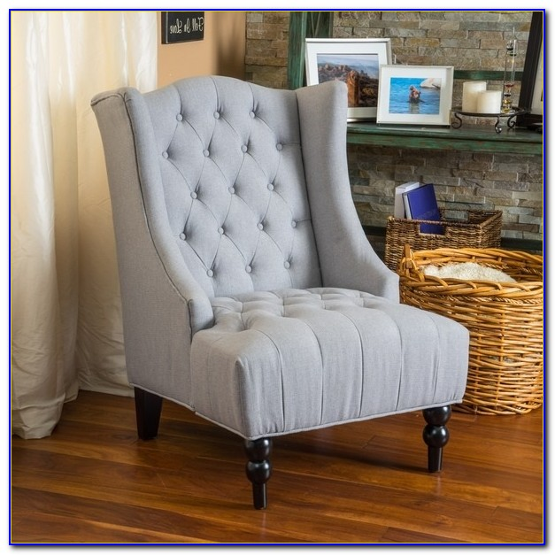 White High Back Living Room Chairs