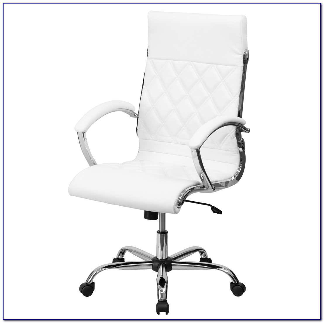 White Leather Office Chairs Australia