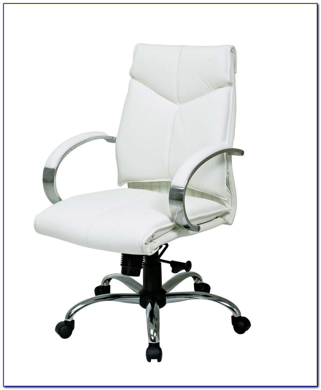 White Leather Office Chairs Canada