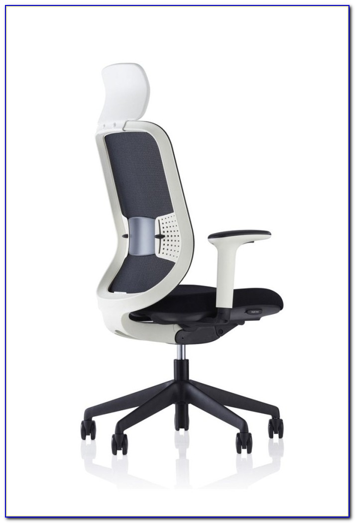 White Mesh Desk Chair