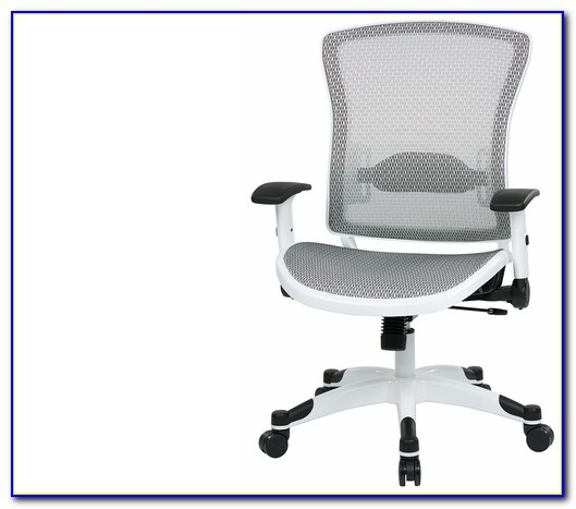 White Mesh Office Chair Canada