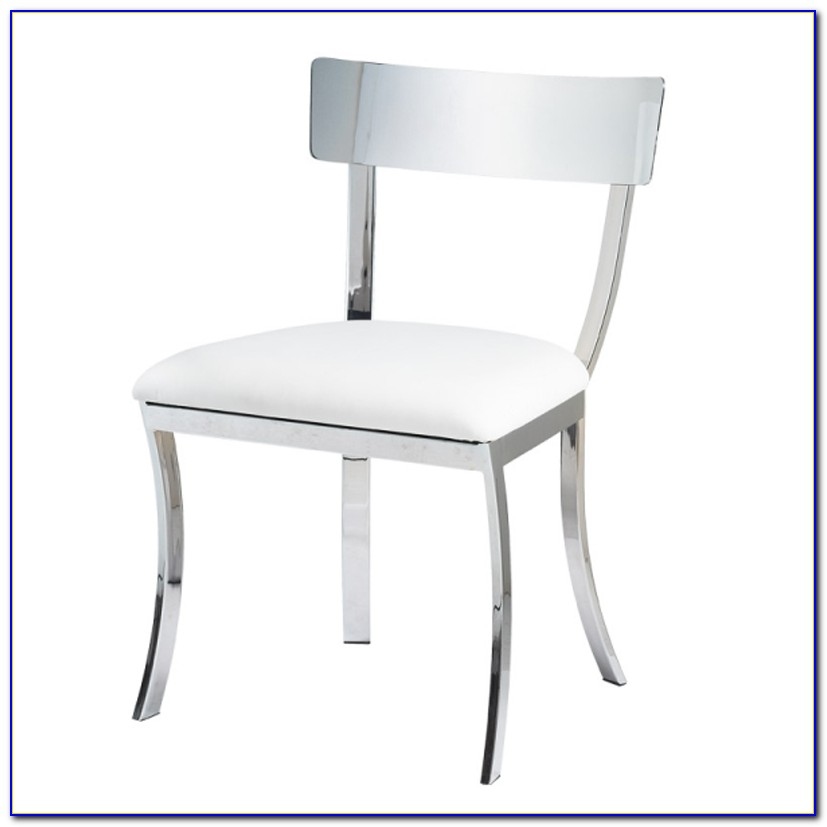 White Metal Dining Chairs Canada
