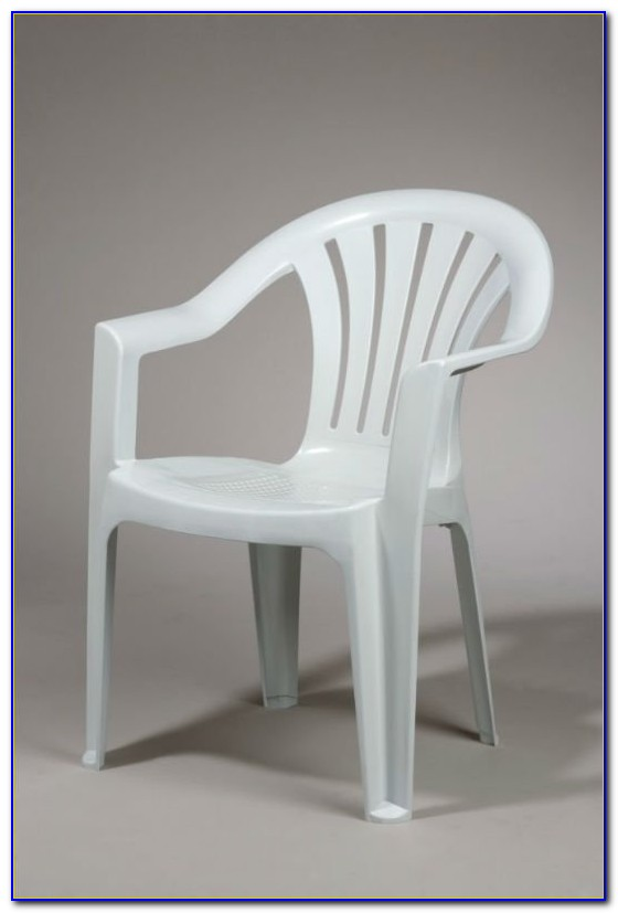 White Plastic Outdoor Furniture