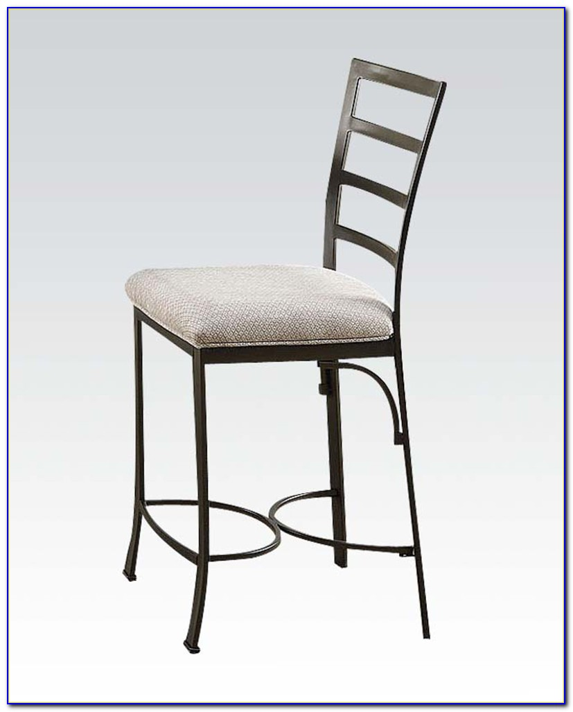 White Wood Counter Height Chairs