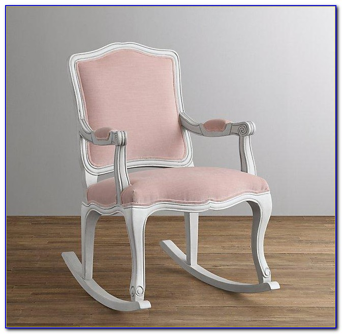 White Wood Rocking Chair Nursery