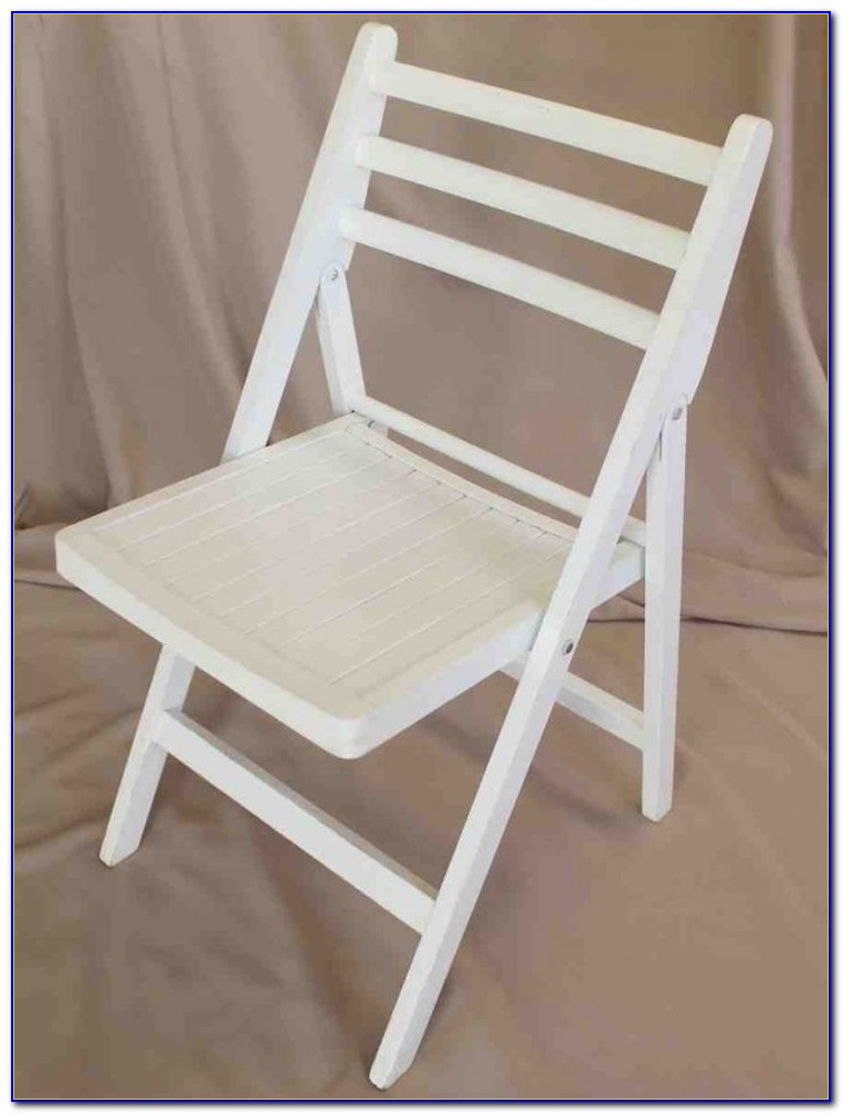 White Wooden Folding Chairs Australia