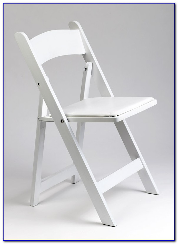 White Wooden Folding Chairs For Weddings