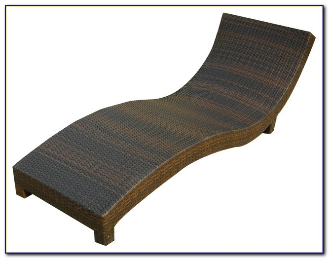 Wicker Chaise Lounge Chair Cushions