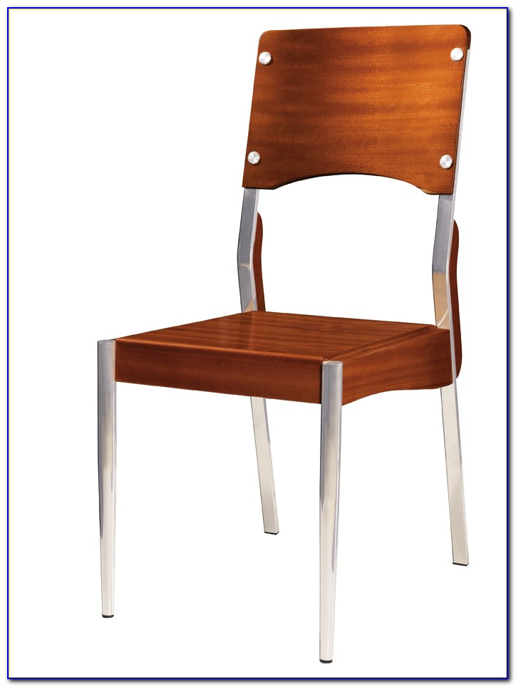 Wood And Metal Dining Room Chairs
