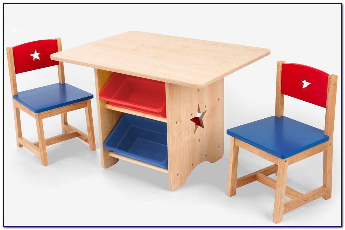 Wooden Toddler Table And Chairs Set