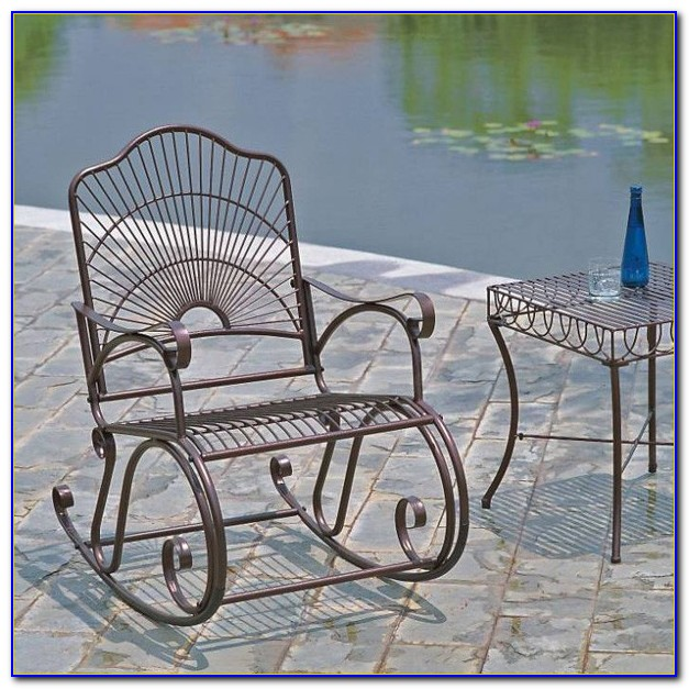 Wrought Iron Patio Chair Pads