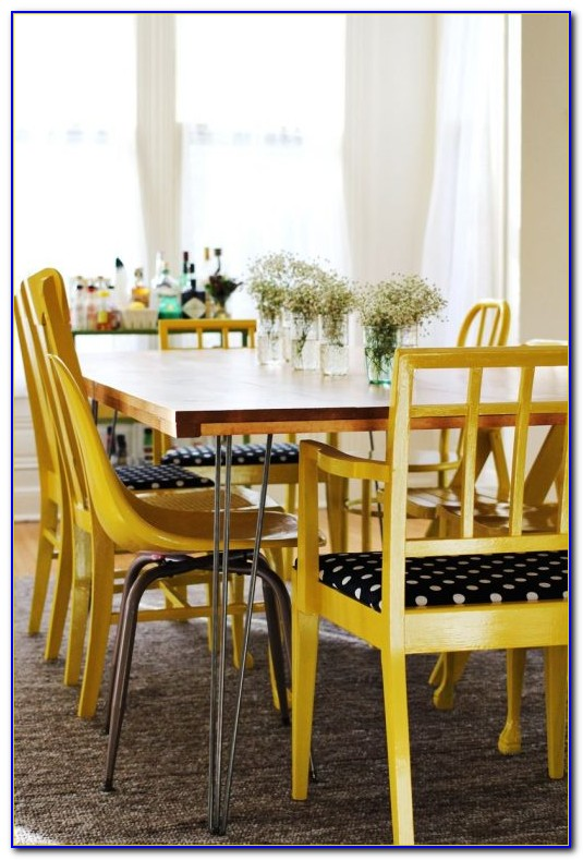 Yellow Dining Room Chair Covers