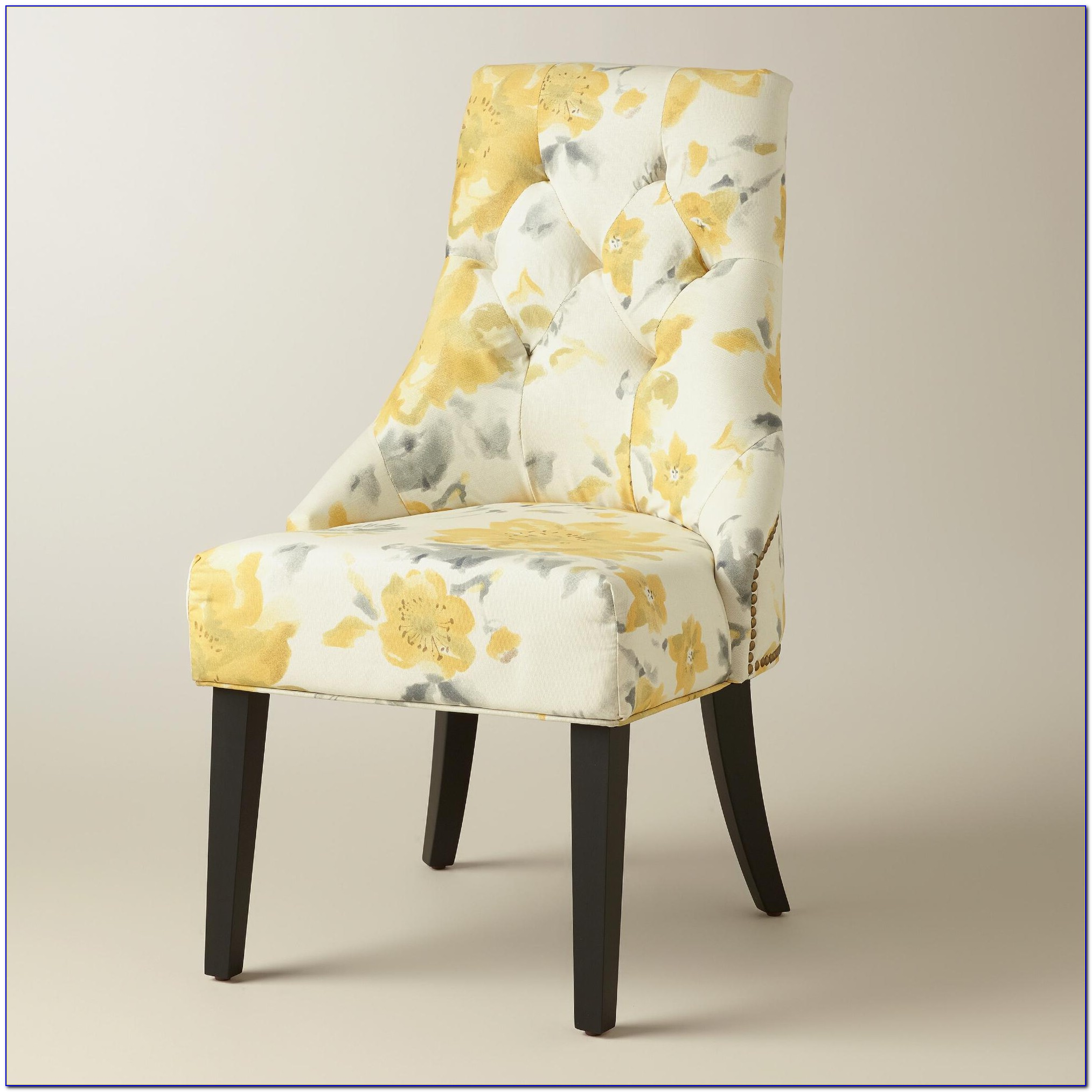 Yellow Dining Room Chair Pads