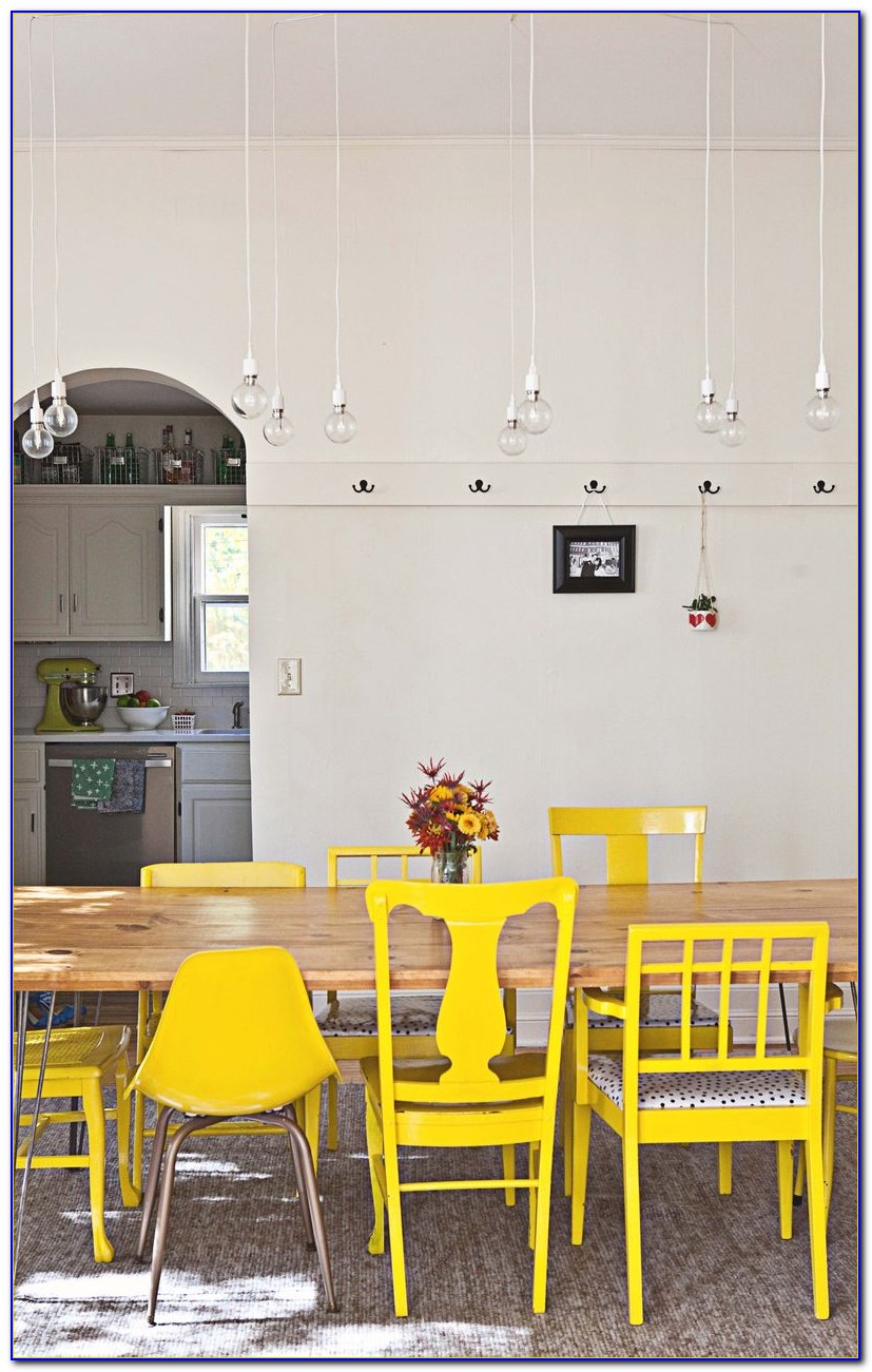 Yellow Dining Room Chair Slipcovers