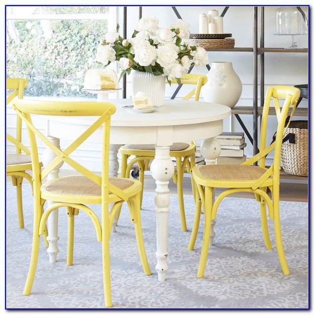 Yellow Dining Room Set