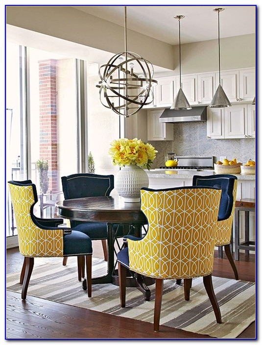Yellow Dining Table Chairs