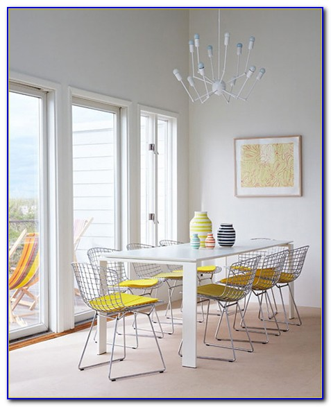 Yellow Fabric Dining Room Chairs