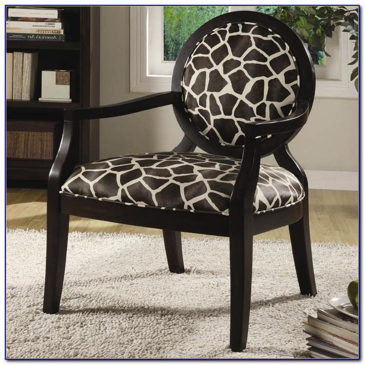 Zebra Print Accent Chairs