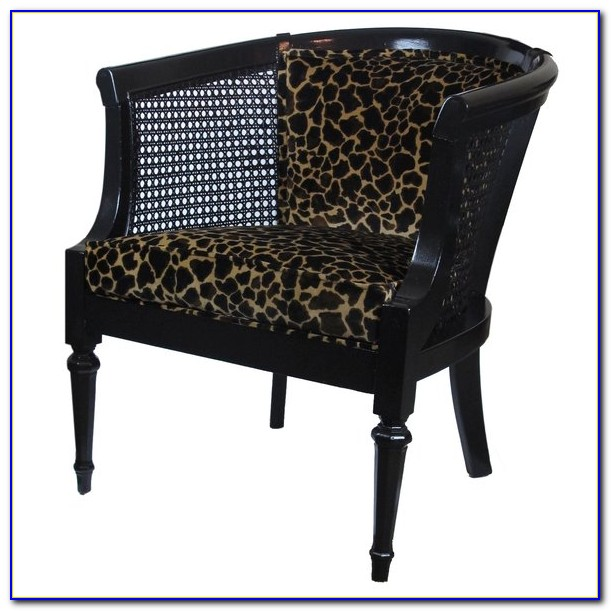 Zebra Print Occasional Chairs