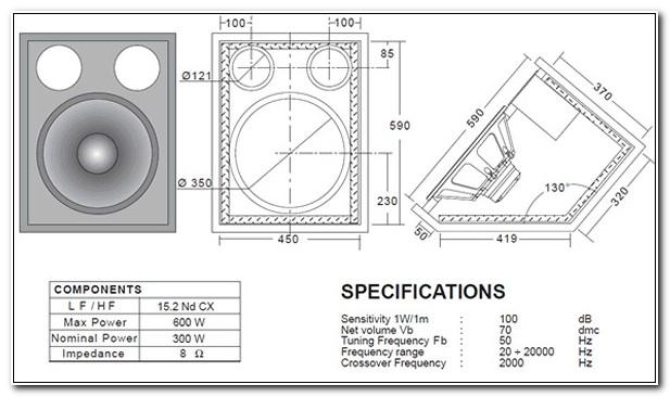 15 Inch Bass Speaker Cabinet Design