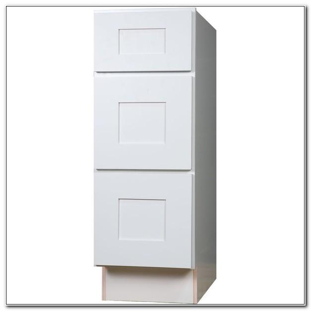 18 Inch Base Cabinet White