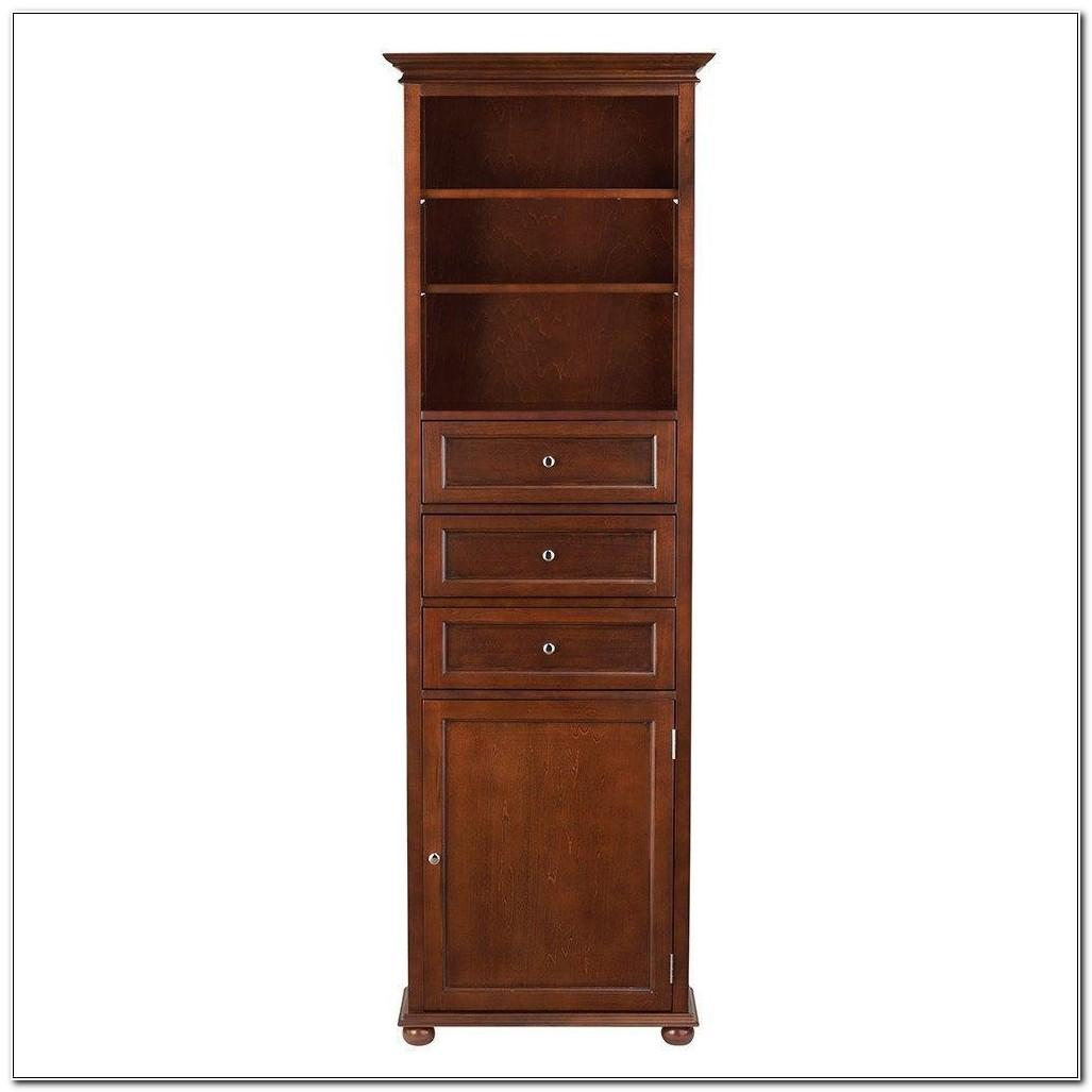 18 Inch Deep Linen Cabinet
