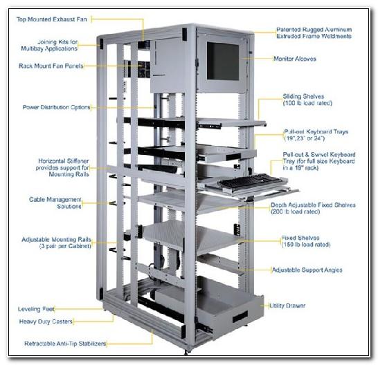 19 Inch Server Rack Cabinet