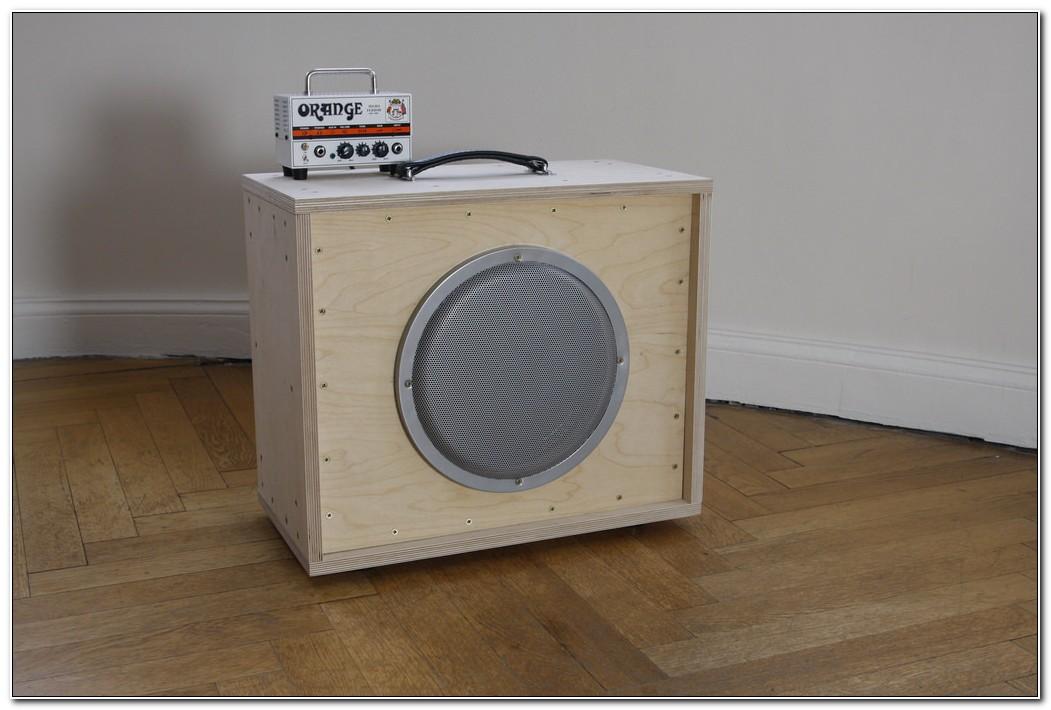 1x12 Guitar Speaker Cabinet Empty