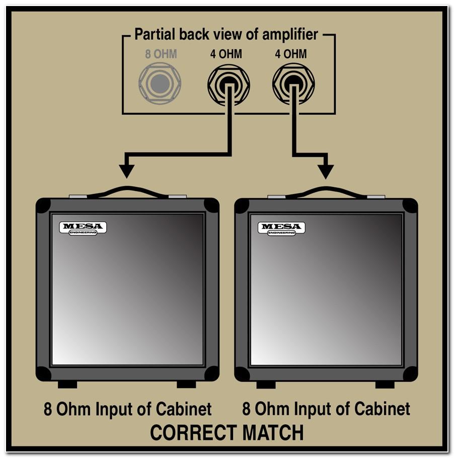 2 8 Ohm Bass Cabinets
